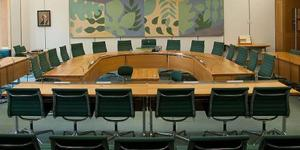 CLG committee room. Parliamentary copyright images are reproduced with the permission of Parliament